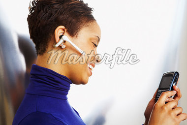 Woman Reading Text Message    Stock Photo - Premium Rights-Managed, Artist: Artiga Photo, Code: 700-02660005