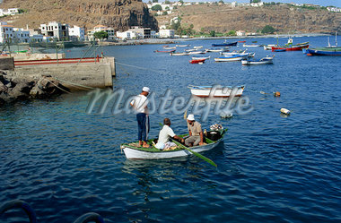 Santiago, La Gomera, Canary Islands, Spain, Atlantic Ocean, Europe    Stock Photo - Premium Rights-Managed, Artist: Robert Harding Images, Code: 841-02825495