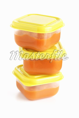 Organic Carrot Baby Food Stock Photo - Premium Rights-Managed, Artist: Angus Fergusson, Code: 700-02833204