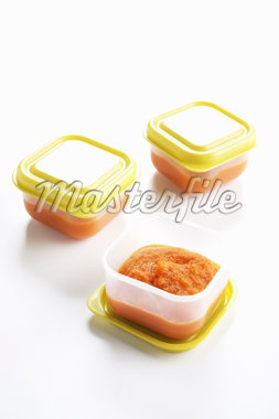 Organic Carrot Baby Food Stock Photo - Premium Rights-Managed, Artist: Angus Fergusson, Code: 700-02833205