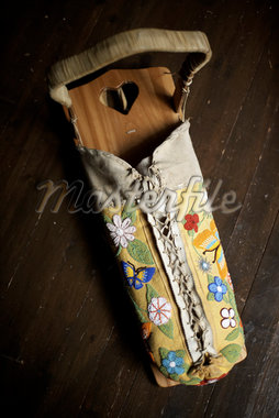 Traditional First Nations Baby Sling, Temagami, Ontario, Canada Stock Photo - Premium Rights-Managed, Artist: Derek Shapton, Code: 700-02833438