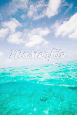 Ocean and sky. Stock Photo - Premium Royalty-Freenull, Code: 614-02837849