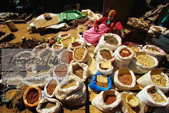 Medicine Market, South Africa, Africa Stock Photo - Direito Controlado, Artist: Robert Harding Images, Code: 841-02899200