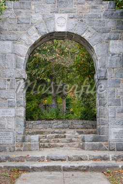 West Vancouver Memorial Arch, West Vancouver, British Columbia, Canada Stock Photo - Premium Rights-Managed, Artist: Christopher Gruver, Code: 700-02912166