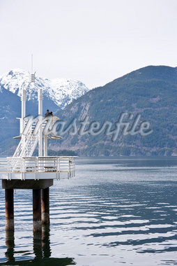 Ferry Dock, Porteau Cove, Squamish, British Columbia, Canada Stock Photo - Premium Royalty-Free, Artist: John Lee, Code: 600-02912909
