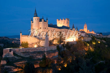 Alcazar of segovia, Segovia, Segovia Province, Castilla Y Leon, Spain Stock Photo - Premium Rights-Managed, Artist: JW, Code: 700-02912948