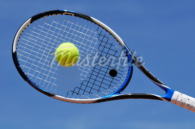 Tennis Racquet and Tennis Ball Stock Photo - Premium Royalty-Free, Artist: Jean-Christophe Riou     , Code: 600-02922714