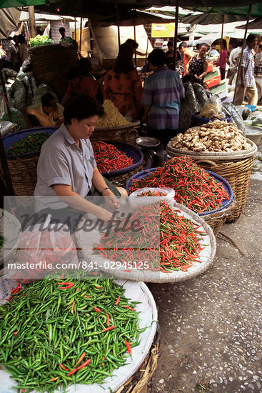 Street market, Bangkok, Thailand, Southeast Asia, Asia                                                                                                                                                   Stock Photo - Direito Controlado, Artist: Robert Harding Images, Code: 841-02945125