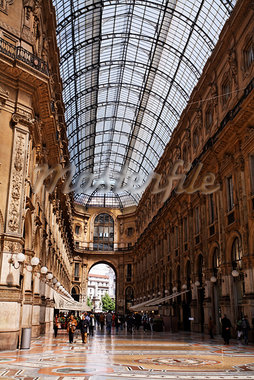 Galleria Vittorio Emanuele II, Milan, Italy Stock Photo - Premium Rights-Managed, Artist: Mike Randolph            , Code: 700-03015075