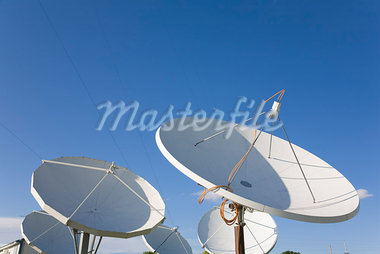 C Band Satellite Dishes Stock Photo - Premium Rights-Managed, Artist: dk & dennie cody         , Code: 700-03017656