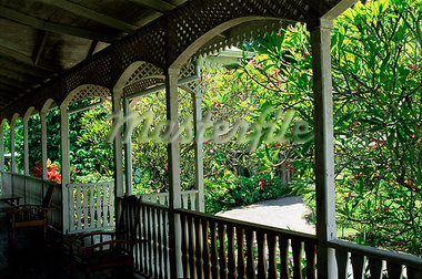 Habitation Saint Joseph (St. Joseph), Institut Kreol des Seychelles, island of Mahe, Seychelles, Indian Ocean, Africa                                                                                    Stock Photo - Premium Rights-Managed, Artist: Robert Harding Images    , Code: 841-03034043