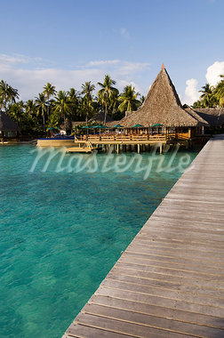 Kia Ora Resort, Rangiroa, Tuamotu Archipelago, French Polynesia, Pacific Islands, Pacific                                                                                                                Stock Photo - Premium Rights-Managed, Artist: Robert Harding Images    , Code: 841-03058269
