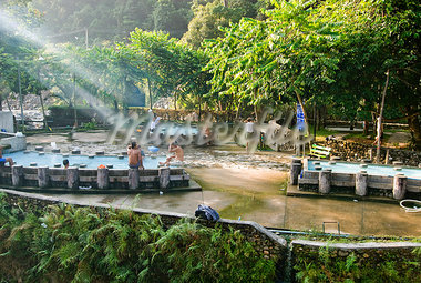 Hot springs, Ranong, Thailand, Southeast Asia, Asia                                                                                                                                                      Stock Photo - Premium Rights-Managed, Artist: Robert Harding Images    , Code: 841-03066782