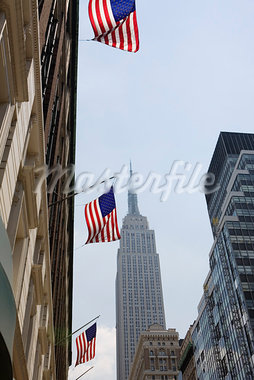 Empire State Building, New York City, New York, USA Stock Photo - Premium Royalty-Free, Artist: Grant Harder             , Code: 600-03075412