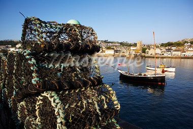 St Ives Harbour, Cornwall, England, United Kingdom Stock Photo - Premium Rights-Managed, Artist: Puzant Apkarian, Code: 700-03161645