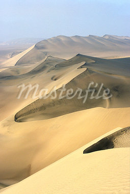 Sand dunes stretch into the distance,in the coastal desert bordering Ica,in southern Peru Stock Photo - Premium Rights-Managed, Artist: AWL Images, Code: 862-03360545