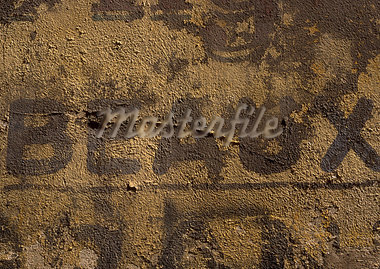 Beautiful typography in French on wall. Stock Photo - Premium Royalty-Freenull, Code: 696-03396473