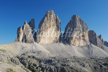 Tre Cime di Lavaredo, Dolomites, South Tyrol, Italy Stock Photo - Premium Rights-Managed, Artist: Martin Ruegner, Code: 700-03445270