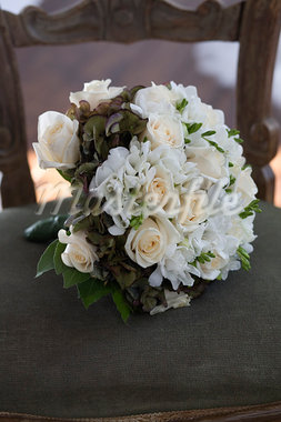 Still Life of Bridal Bouquet Stock Photo - Premium Royalty-Free, Artist: Siephoto, Code: 600-03445551