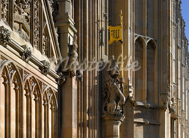 House of Parliament, Westminster, London. Architects: Sir Charles Barry and A. W. N. Pugin Stock Photo - Premium Rights-Managed, Artist: Arcaid, Code: 845-03463357