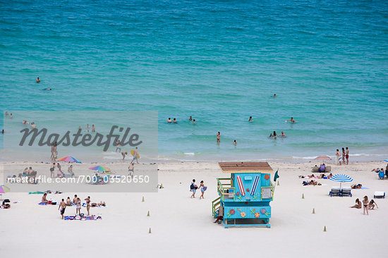 South Beach, Miami Beach, Florida, USA Stock Photo - Premium Rights-Managed, Artist: dk & dennie cody, Code: 700-03520650