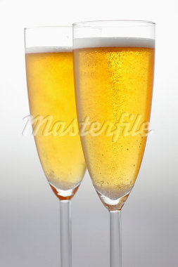 Two glasses of sparkling wine Stock Photo - Premium Royalty-Freenull, Code: 659-03534026