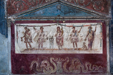 Fresco, Pompeii, Campania, Italy Stock Photo - Premium Rights-Managed, Artist: R. Ian Lloyd, Code: 700-03641120