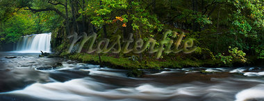 Waterfall and River, Brecon Beacons National Park, Wales Stock Photo - Premium Rights-Managed, Artist: JW, Code: 700-03654436