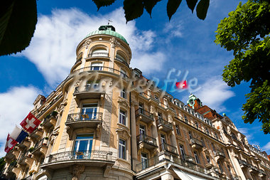 The Palace Hotel, Lucerne, Switzerland Stock Photo - Premium Rights-Managed, Artist: R. Ian Lloyd, Code: 700-03654602