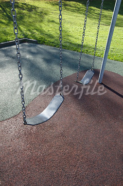 Swing Set Stock Photo - Premium Royalty-Free, Artist: Ron Fehling, Code: 600-03665741