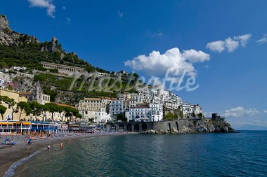 The town of Amalfi, UNESCO World Heritage Site, Campania, Italy, Europe Stock Photo - Premium Rights-Managed, Artist: Robert Harding Images, Code: 841-03672540