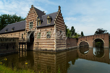 Heeswijk Castle, 's-Hertogenbosch, North Brabant, Netherlands Stock Photo - Premium Rights-Managed, Artist: Emanuele Ciccomartino, Code: 700-03698227
