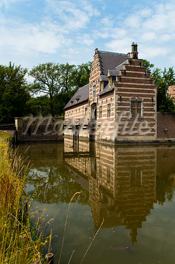 Heeswijk Castle, 's-Hertogenbosch, North Brabant, Netherlands Stock Photo - Premium Rights-Managed, Artist: Emanuele Ciccomartino, Code: 700-03698228