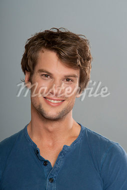 Portrait of Man Stock Photo - Premium Royalty-Free, Artist: KL Services, Code: 600-03787509