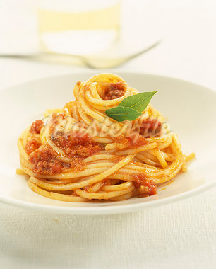Spaghettis  la bolognaise Stock Photo - Premium Royalty-Freenull, Code: 652-03805116