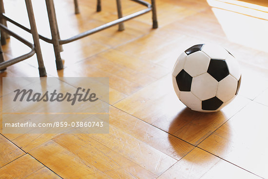 Soccer Ball In Classroom Stock Photo - Premium Rights-Managed, Artist: Aflo Relax, Code: 859-03860743