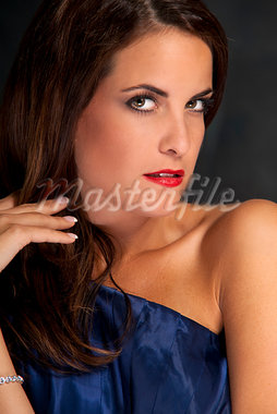 Portrait of Woman Stock Photo - Premium Royalty-Free, Artist: KL Services, Code: 600-03865058