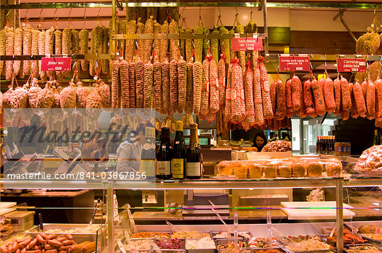 Les Halles de Paul Bocuse in Lyon, France, Europe Stock Photo - Direito Controlado, Artist: Robert Harding Images, Code: 841-03867856