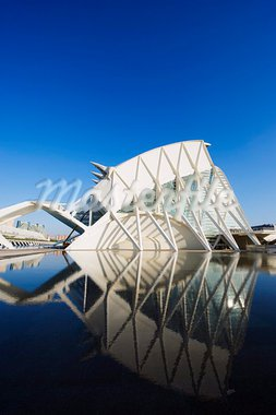 Science Museum, architect Santiago Calatrava, City of Arts and Sciences, Valencia, Spain, Europe Stock Photo - Premium Rights-Managed, Artist: Robert Harding Images, Code: 841-03868447