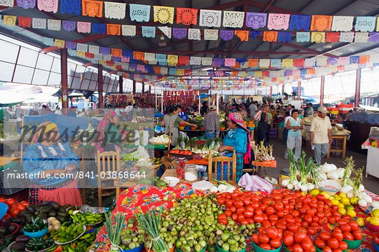 Tlacolula Sunday market, Oaxaca state, Mexico, North America Stock Photo - Direito Controlado, Artist: Robert Harding Images, Code: 841-03868644