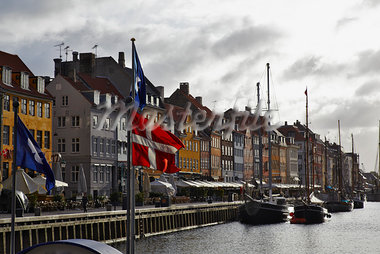 Nyhaven, Copenhagen, Denmark Stock Photo - Premium Rights-Managed, Artist: John Cullen, Code: 700-03874593