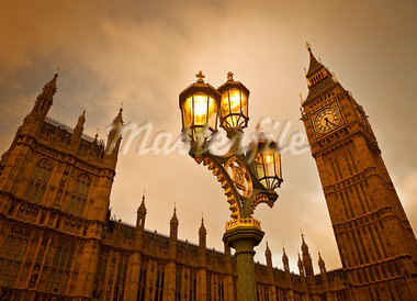 Big Ben, Westminster Palace, Westminster, London, England, United Kingdom Stock Photo - Premium Royalty-Free, Artist: Daryl Benson, Code: 600-03891271