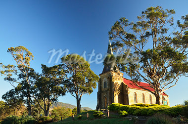 St John's Church, Richmond, Tasmania, Australia Stock Photo - Premium Rights-Managed, Artist: Jochen Schlenker, Code: 700-03907022