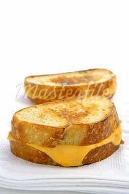 Grilled Cheese on Sour Dough Bread Stock Photo - Royalty-Free, Artist: Karcich, Code: 400-03910839