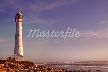 The Slangkop Lighthouse in Kommetjie, Western Cape. The tallest lighthouse in South Africa. Stock Photo - Royalty-Free, Artist: nicweb, Code: 400-03914730