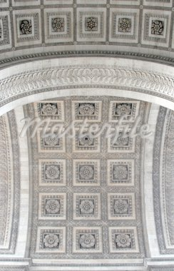 Arc de Triomphe - details Stock Photo - Royalty-Free, Artist: barsik, Code: 400-03936900
