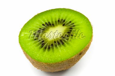 Kiwi sliced isolated on white background Stock Photo - Royalty-Free, Artist: Adiasz, Code: 400-03945055