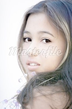 Asian glamorous girl Stock Photo - Royalty-Free, Artist: barsik, Code: 400-03947341
