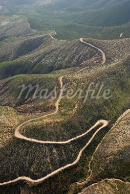 Aerial of rolling landscape in California countryside, USA. Stock Photo - Royalty-Free, Artist: iofoto, Code: 400-03948741
