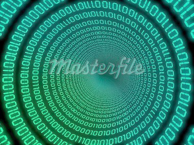 3d rendered illustration of a binary code Stock Photo - Royalty-Free, Artist: Eraxion, Code: 400-03954735